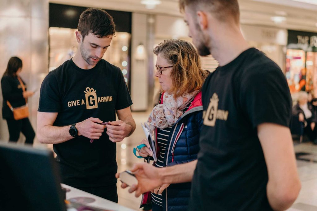 Garmin Experiential Event Retail Marketing
