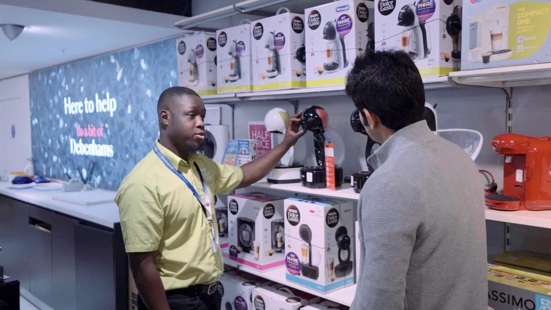 Nescafe Dolce Gusto Retail Marketing Group